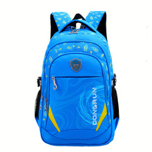 High Quality Colorful Nylon Waterproof school backpack for children
