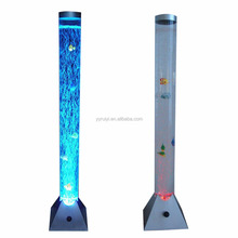 PEZO COLOUR CHANGING LED LIGHTS WATER BUBBLE TUBE LAMP
