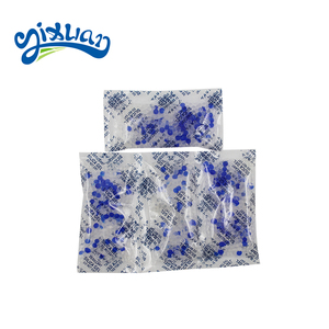10-100g Non woven Fabric Packing Adsorption 38% 2-4 MM Silica Gel Sachets silica gel desiccant