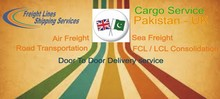 Cargo Service From Pakistan To UK Main Land