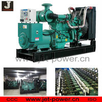 powered by cummins engine diesel generator from 20KVA - 1650KVA