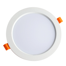 CE ROSH SAA certified 18w led downlight ceiling recessed ip44 downlight round slim panel light smd home and store use
