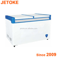 JETOKE Commercial used chest freezer for sale/deep freezer