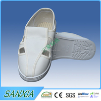 PU/PVC/SPU sole canvas upper ESD safety shoe/ slipper
