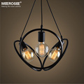 Modern Vintage Industrial Pendnat Lamp with Edison Bulb MD81464