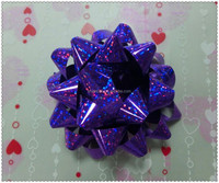 holiday Star Bow holographic star bow