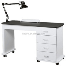 Manicure table for 1 people nail spa dryer table with led uv light