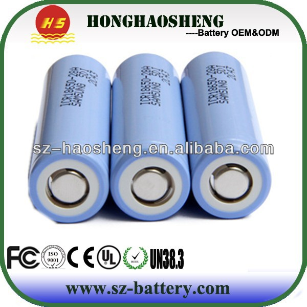 High quality and original 18650 Lion 2800mah Samsung ICR18650-28A battery