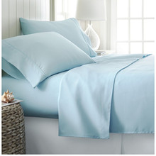 Baby bedding set 100% polyester microfiber bed sheet set for home/hotel