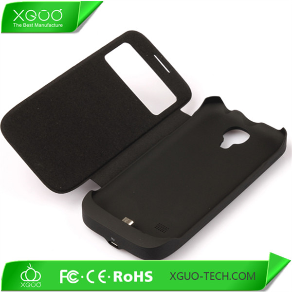 high quality power bank case for s4 mini extended battery case