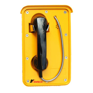 IP66 Weatherproof VoIP KNSP-10 Emergency Industrial Telephone for Tunnel