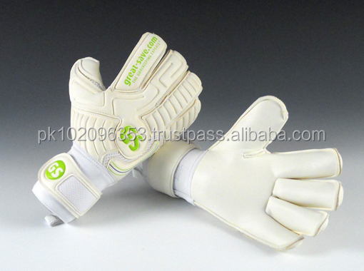 Best German latex Goalkeeper Gloves/Flat Palm Goal Keeper gloves/4mm latex goal keeper gloves