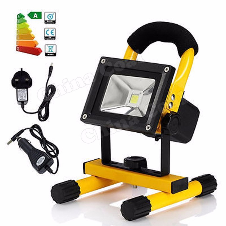 20w Lightweight Portable Battery Powered Led Flood Lights