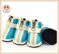 PU Leather Shoes Boots for Pet Dog