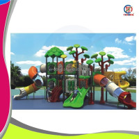 Multi-function shanghai produced outdoor playground equipment baby play center