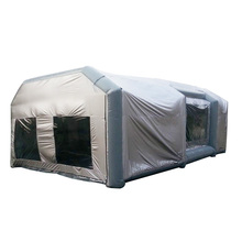 Factory directly provide outdoor customized sizes inflatable spray booth