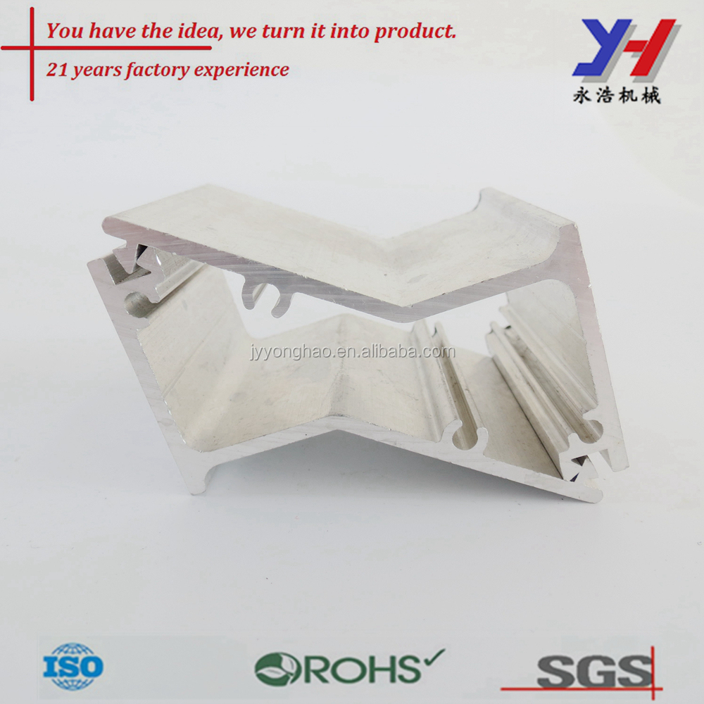 OEM aluminum profile z shaped metal bracket