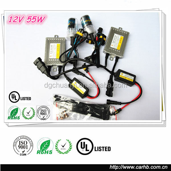 High quality DC 35w hid xenon kit wholesale xenon hid kit for philips 6000k h7
