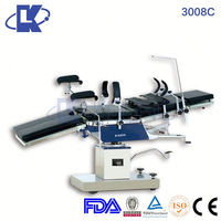 automatic hospital bed five function X-ray manual pet operation table iso