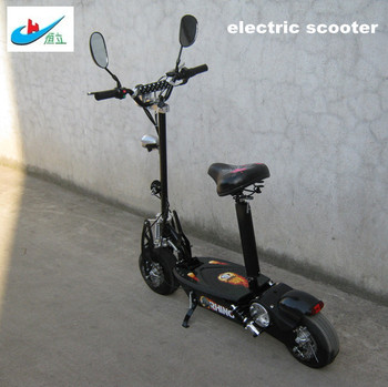 electric scooter with mirro
