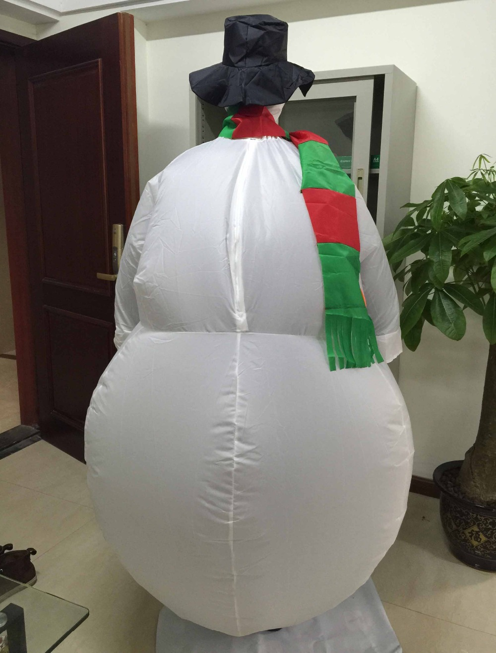 adult inflatable snowman costume inflatable adult snowman suit