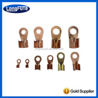 LongFuTe factory outlet Cable copper flat solder compression terminals lugs