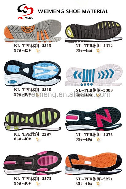 Changeable clear shoes soles smellness slipness shoe out soles