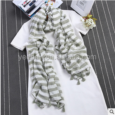 2016 Spring Fashion Women high quality color scarf cotton long fold scarf