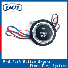 Auto Alarm System Push Button Engine Start Stop System Keyless Entry Remote Control
