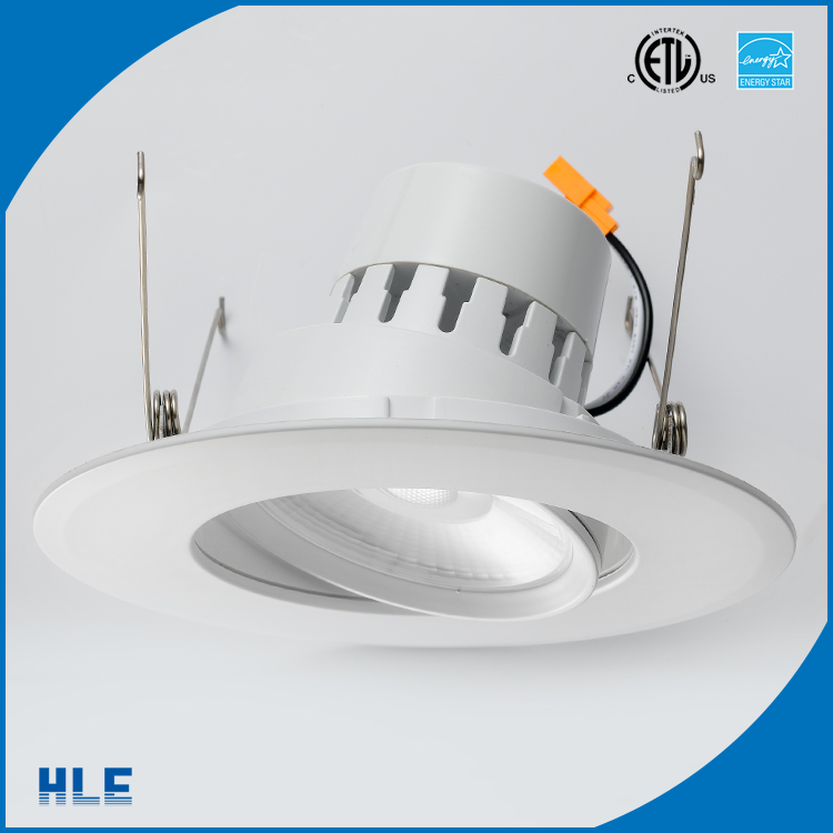 6 inch 5000K 50000hours lifespan 5 years warranty led can light dimmable energy star gimbal led can downlight