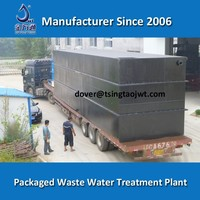 Compact Underground Industrial Waste Water Treatment Plant in Container
