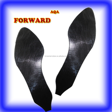 high quality shoe material black river shiny neolite rubber sheet from China