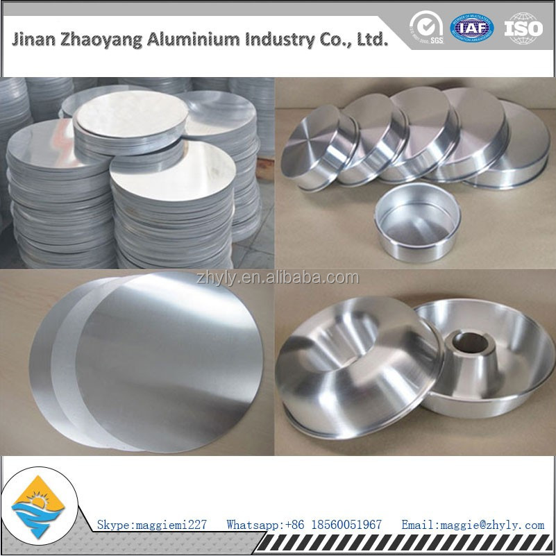 Chinese manufacturer supply high quality stamping aluminum discs for kitchenware