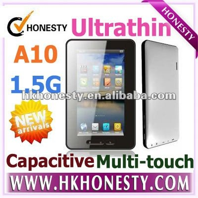 2011 new Android 2.3 7 inch Flash 10.3 8GB Capacitive Screen Tablet PC