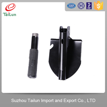 Survival Trowel Pickaxe Sapper Tool 5 in 1 Mini Folding Shovel With Saw Opener