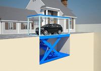 Hydraulic pump for car lift table