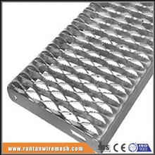 galvanized grip strut perforated plank safety grating