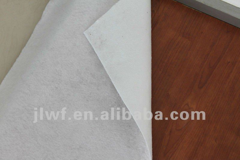 White sticky waterproof polyester fabric carpet