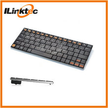 Ultra Slim Mini wireless bluetooth keyboard for apple laptop and tablet pc