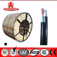 2016 top sale self support aerial telephone cable 0.50mm bare copper conductor, drum packing