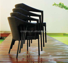 2018 Trade Assurance New design rattan outdoor stackable cheap wicker rattan chairs