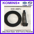 8/39 D30 D30-488TJ Jeep Crown Wheel Pinion