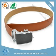wholesale mexican leather belt with automatic buckle