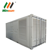 USA Big electric diesel generator 2500 kva 2MW container type