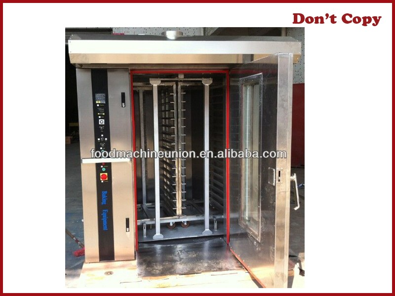 YOSLON 64 trays commercial Rotary oven for sale