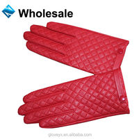 ladies sex best sales products red hand leather gloves