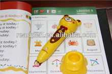 English, Arabic, Chinese, French and Korean 5 translations audio Reading Pen and audio book