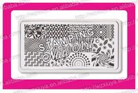 2016 new nail stamping plates konad nail art, Stamping Plate