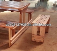 Verina Bench with end stool