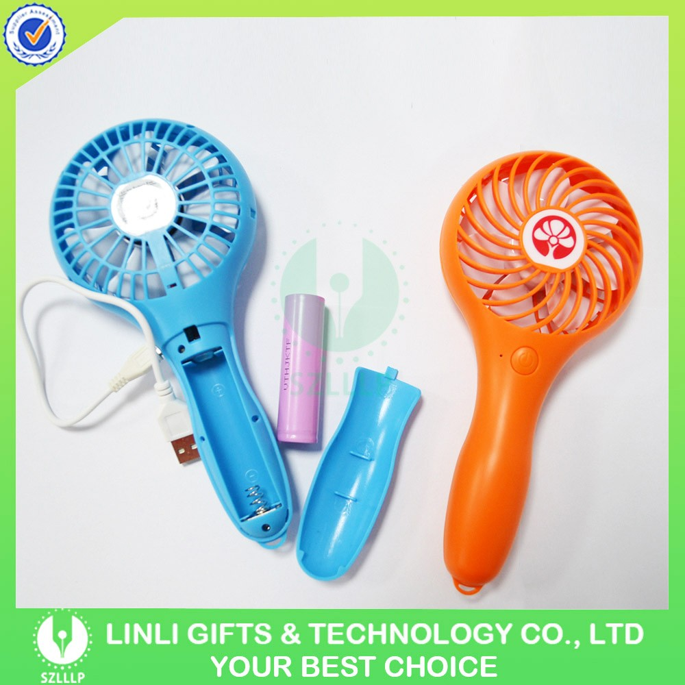 Newest Fan Giveaway 5v Hand Fans Handle With Rechargeable Battery